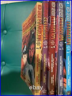 Neon Genesis Evangelion Manga Special Collectors Edition Vol 1 3 4 5 7 Viz