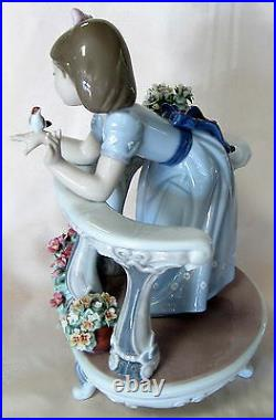 New Lladro #8735 Morning Song Special Edition Brand Nib Flowers Girl Save$$ F/sh
