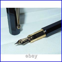 New Montblanc Heritage Egyptomania Special Edition Black Fountain Pen EF 125469
