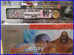 Nintendo Switch Street Fighter, 30th. Ann. Collection Vga 90+ Nm+/mt Neu