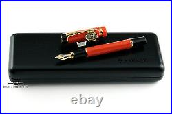 Parker Duofold Special Edition Big Red Fountain Pen RARE