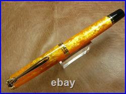 Pelikan M600 Vibrant Orange 2018 Special Edition Fountain Pen 14K Extra Fine Nib