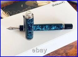 Pelikan M805 Ocean Swirl Special Edition Fountain pen New