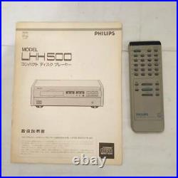 Philips Mz009411070076 Lhh500R Cd Player Edition Series Collection Special