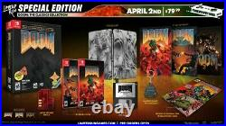 Pre Order DOOM The Classic Collection Special Edition Switch Limited Run