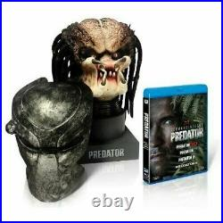 Predator Complete Blu-Ray Collection 4 Disc Set with Predator Head 1500 limited