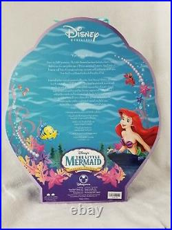 Rare Little Mermaid Ariel Doll Limited Special Edition Retired 2006 Disney 11