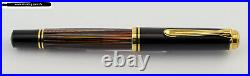 Rare Pelikan Special Edition Fountain Pen M800 in Tortoiseshell Brown from 2013