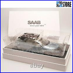 SAAB 9-3 Convertible 2,0 Turbo Vector Ice Blue Metal MY2009 1/18 Collectable