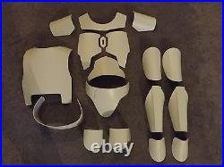 SMALL ADULT/MENS/WOMENS/MANDALORIAN FAN MADE ARMORwithEXTRA PIECES(Deluxe Version)