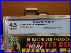 SPECIAL MARVEL EDITION #15 NETHERLANDS VARIANT 1st app Shang-Chi CBCS 4.5