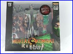 STORM COLLECTIBLES Mortal Kombat Reptile 1/12 figure Special Edition Bloody