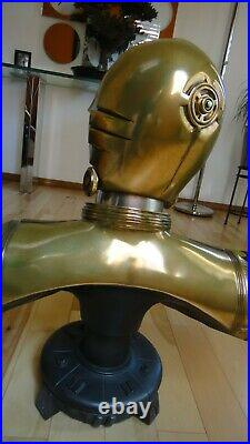 Sideshow C-3PO Life-Size 11 Bust lifesize c3po statue special edition star war