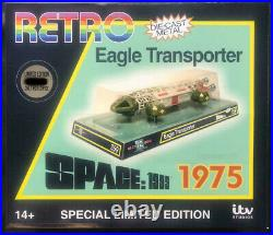 Sixteen 12 Space 1999 Eagle Transporter Special Edition EGT-14