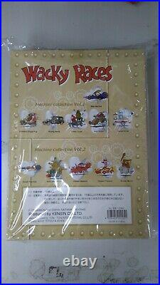 Special EditionWacky Races Machine Car Collectible Box Vol. 1 2 Set