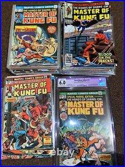 Special Marvel Edition 15, 16, Masters of Kung Fu 17-125 Lot Complete Series Set