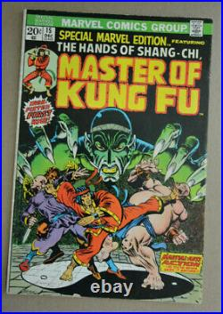 Special Marvel Edition #15 1st Appearance Of Shang-chi Master Of Kung Fu