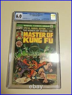 Special Marvel Edition #15 Cgc 6.0 1st Shang-chi Master Of Kung-fu