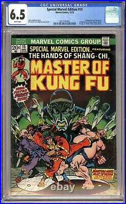 Special Marvel Edition #15 Cgc 6.5 1st Appearance Shang-chi, Master Of Kung-fu