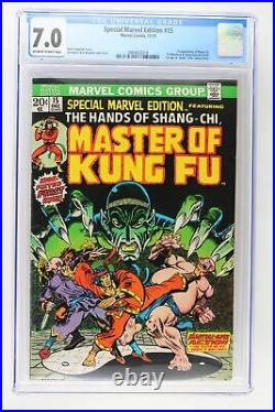 Special Marvel Edition #15 Marvel 1973 CGC 7.0 1st Appearance of Shang-Chi, Fu