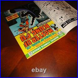 Special Marvel Edition #16 Rare Double Cover Error! Master of Kung Fu 1973