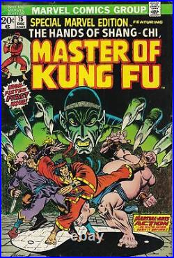 Special Marvel Edition (1971) 15 1st appearance Shang Chi Master of Kung Fu KEY