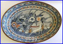 Special edition big supreme turkey casserole Ken Edwards Tonala Mexican Ceramic