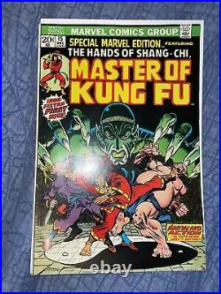 Special marvel edition 15 master of kung fu 1st Appearance Of Shang-Chi