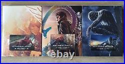 Spider-Man Trilogy WEET Collection Steelbook 3x Fullslip 4K/2D Blu-ray New