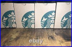 Starbucks Christmas Coffee Mug SET OF FOUR 12oz Special Edition with Gift Box 2019