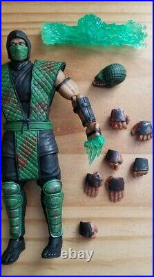 Storm Collectibles Mortal Kombat Reptile Bloody Special Edition 1/12