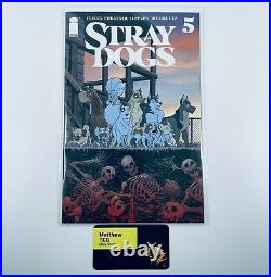 Stray Dogs #5, Tony Fleecs Comics and Ponies (CnP) Exclusive Variant Cover, Mint