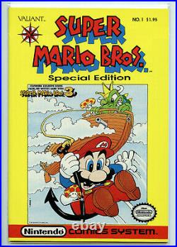 Super Mario Brothers #1 Special Edition Comic NM Nintendo Valiant 1990 F5