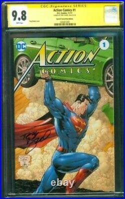 Superman Action Comics 1 CGC 9.8 SS Tony Daniel Special Convention Ed Variant