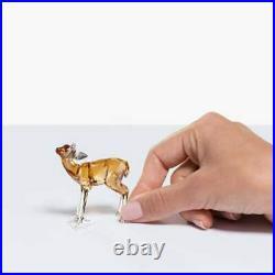 Swarovski Crystal Scs Fawn Figurine New 5493978 Rare 2020 Deer Retired USA
