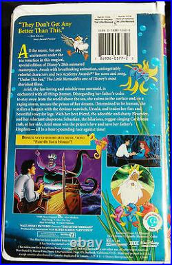 The Little Mermaid/VHS 1998/Walt Disney/MASTERPIECE COLLECTION/Special Edition
