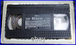 The Little Mermaid/VHS MOVIE/1998/MASTERPIECE COLLECTION/original sticker rare