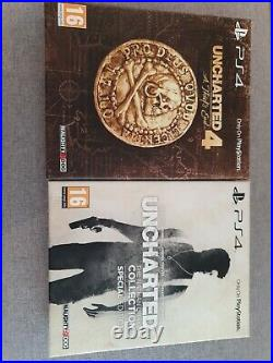 Uncharted 4 And Nathan Drake Collection Special Editions PS4