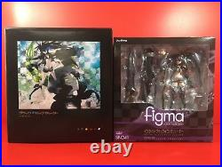 Used Black Rock Shooter Blu-ray BOX Limited Edition with Figma Japan Figure F/S