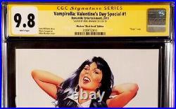 Vampirella Valentine's Day Special 1 Cgc Ss 9.8 Mike Mayhew Black Virgin Variant