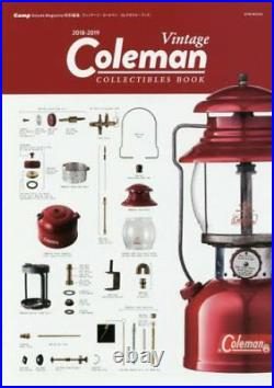Vintage Coleman Collectibles Book Japanese Lantern Sportmaster Stove Table Lamp
