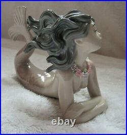 Vintage Llardo porcelain MERMAID FANTASY MIRAGE figurine 1983