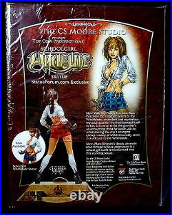 Witchblade Clay Moore Red Variant Ponytail School Girl Statue Special Amricons