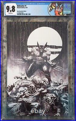 Wolverine #1 CGC 9.8 Kael Ngu Convention Edition Virgin Sketch Special Label