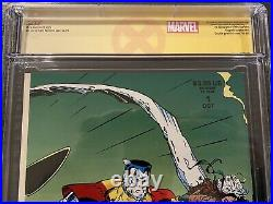 X-Men 1 CGC 9.8 SS Signed Chris Claremont Special Edition Wolverine Label