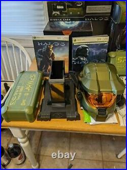 Xbox 360 console halo 3 special edition collection Helmet missile cases ODST