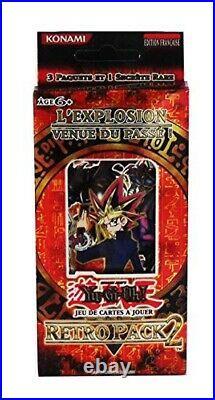 Yu-Gi-Oh Pack Édition Spéciale Français Rétro Pack 2! Exclusif Pack Très Rare